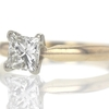 .83 ct. Princess Cut Solitaire Ring #2
