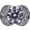 0.74 ct. Round Cut Bridal Set Tiffany & Co. Ring, F-G, VVS2-VS1 #1