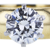 0.95 ct. Round Cut Solitaire Ring, G-H, SI2 #1