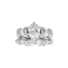 1.52 ct. Oval Cut Bridal Set Ring, J-K, VS1-VS2 #2