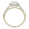 0.71 ct. Round Cut Bridal Set Ring, F, VS2 #4