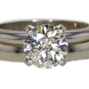 1.65 ct. Round Cut Bridal Set Ring #3