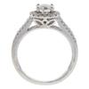 0.72 ct. Round Cut Bridal Set Ring, I-J, SI1 #2
