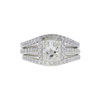 1.26 ct. Princess Cut Bridal Set Ring, L, SI1 #3