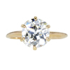 2.72 ct. Oval Cut Solitaire Ring, M, SI1 #3