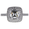 2.1 ct. TIFFANY & CO. TIFFANY LEGACY® Cushion Modified Brilliant Cut diamond engagement ring, G, VVS1 #1