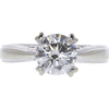 1.04 ct. Round Cut Solitaire Ring, H, SI2 #1