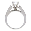 0.96 ct. Round Cut Bridal Set Ring, G, SI1 #4