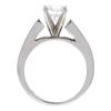 0.96 ct. Round Cut Bridal Set Ring, G, SI1 #4