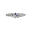0.73 ct. Round Cut Solitaire Ring, E, SI1 #3