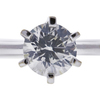 1.12 ct. Round Cut Solitaire Ring, J, I1 #4