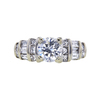 1.08 ct. Round Cut Solitaire Ring, G, I1 #3